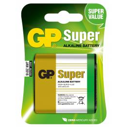 Blister 1 Batteria 4,5V GP Super