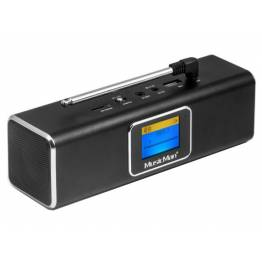 Speaker Portatile Bluetooth Wireless DAB Nero, BT-X29