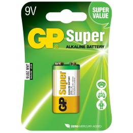 Blister 1 Batteria 9V GP Super