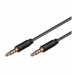 Cavo Audio 3.5'' M/M per iPhone, iPad, iPod 1,5 m