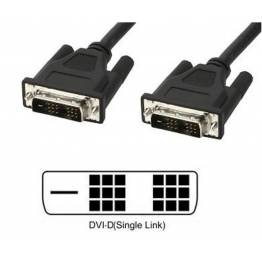 Cavo Monitor DVI digitale M/M Single Link 1,8m (DVI-D)