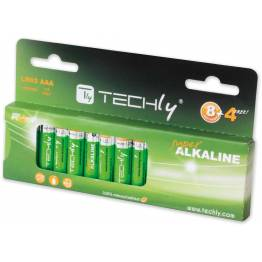 Blister 12 Batterie High Power Mini Stilo AAA Alcaline LR03 1,5V