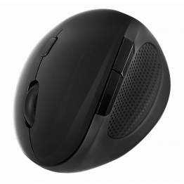Mouse Ottico Ergonomico Wireless 1600dpi Nero